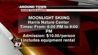 Around Town 1/20/17: Moonlight Skiing