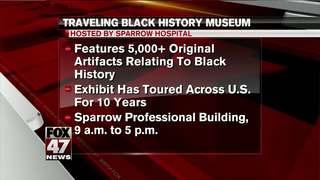 Sparrow Hospital hosts mobile black history...