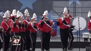 Local high school band performs in D.C.