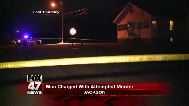 Jackson man charged on in shootings