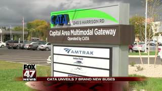 CATA unveils 7 brand new buses