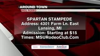 Around Town 2/16/17: Spartan Stampede
