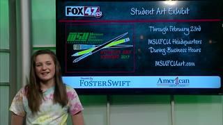 Around Town Kids: 2-17-17: Student Art Exhibit