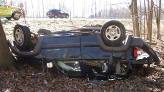 I-96 rollover crash kills woman, speed a factor