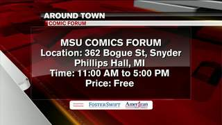 Around Town: 2/20/17: MSU Comics Forum