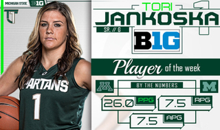 Jankoska named B1G Player of the Week