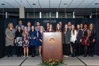 Students earn national recognition for public...