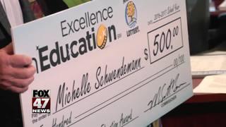 Excellence in Education: Michelle Schwendemann