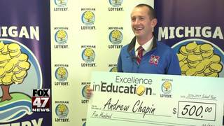 Excellence in Education: 3/21/17: Andrew Chapin