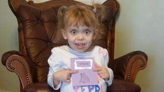 Olivia Enderle gets over 2k cards for birthday