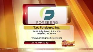 T.A. Forsberg, Inc.- 3/22/17