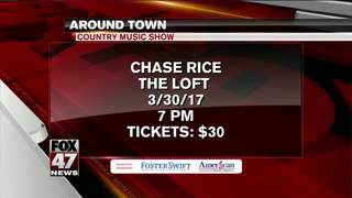 Around Town: 3/24/17: Chase Rice at the Loft