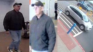 PHOTOS: Person of interest in porn fliers case