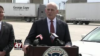 Homeland Security stresses keeping US safe