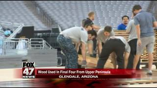 UP forest provides wood for Final Four courts