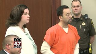 Judge motions to limit comment on Nassar case