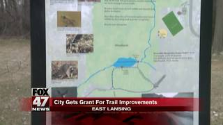 City gets grant for trail improvements