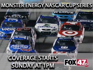 Get your engines ready NASCAR fans!