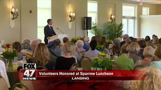 Sparrow volunteers honored at luncheon