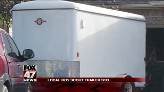 East Lansing Boy Scout trailer stolen