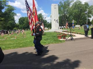 Lansing Holds Memorial Day Ceremony