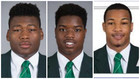 Former Spartan football players return to court