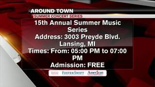 Around Town 6/26/17: 15th Annual Music Series