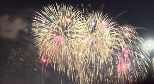 Used fireworks set Davenport home on fire