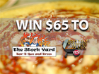 Rules: Win a $65 gift card to The Stock Yard BBQ