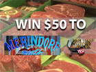 Rules: Enter to win $50 to Merindorf Meats!