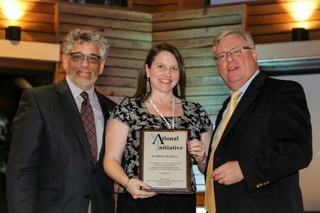Sparrow receives recognition for research