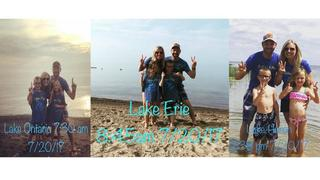 Family stops at all 5 Great Lakes in one day