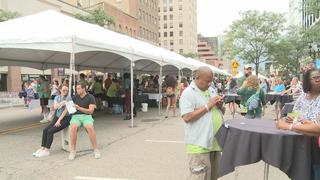 Taste of Downtown draws many for food and...