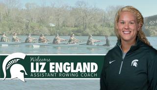 Liz England joins Spartan rowing staff