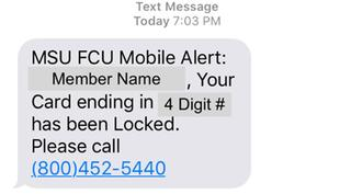 Text message scam targets MSUFCU cardholders