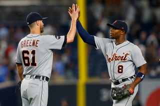 Hicks' 3-run homer leads Tigers over Yanks