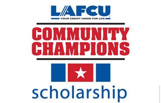 LAFCU Community Champions scholarships