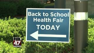 Ingham County holds back to school health fair