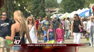 Howell hosts 57th annual Melon Festival