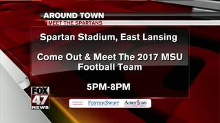 Around Town 8/21/17: Meet the Spartans