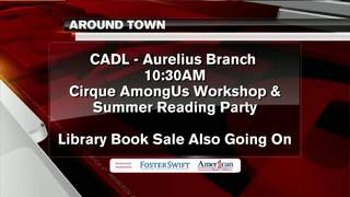 Around Town 8/22/17: Aurelius Branch Library