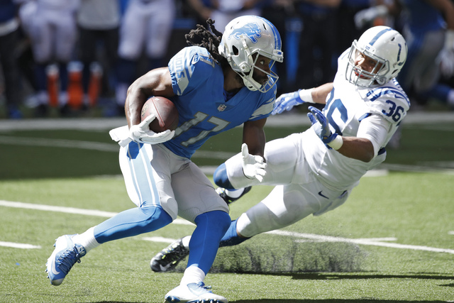 Lions cut Wright, ex-MSU star Keshawn Martin