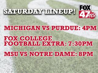 Don't miss BIG TEN football on FOX 47!