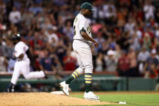 Jharel Cotton scratched from Athletics start
