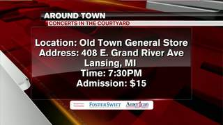 Around Town 9/19/17: Concerts In The Courtyard