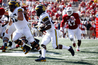 Michigan defense holds off Indiana in OT, 27-20