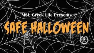 MSU Greek Community to host Safe Halloween
