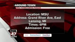 Around Town 10/19/17: MSU Homecoming Parade