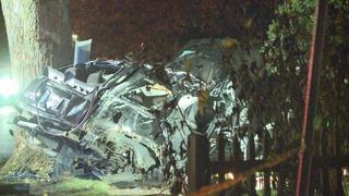 Driver, passenger killed in pin-in crash