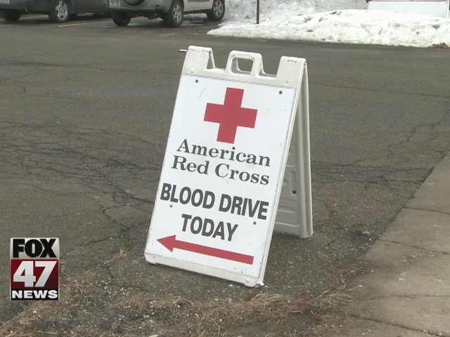 Blood donors urged to help restock Red Cross shelves
